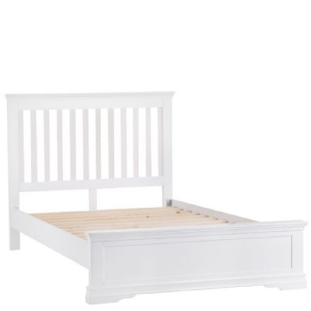 Stratford White Painted Double Bed